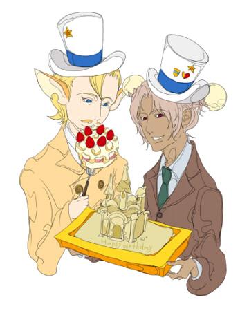 キチイさんの先生と漱さんお誕生日.jpg